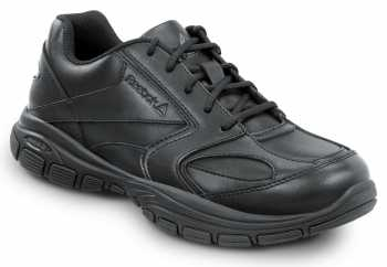 Reebok Work SRB102 Senexis, Black, Women's Athletic Style Slip Resistant Soft Toe Work Shoe