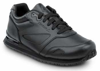 Reebok SRB970 Prelaris, Black, Women's, Jogger Style Slip Resistant Soft Toe Work Shoe