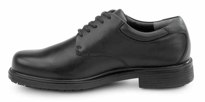 Rockport Works SRK6585 Men's Huron, Black, Dress Style Slip Resistant Soft Toe Work Shoe