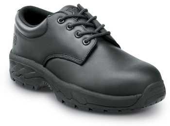 SR Max SRM2090 Rockledge, Men's, Black, Oxford Style, Steel Toe, EH, Slip Resistant Work Shoe