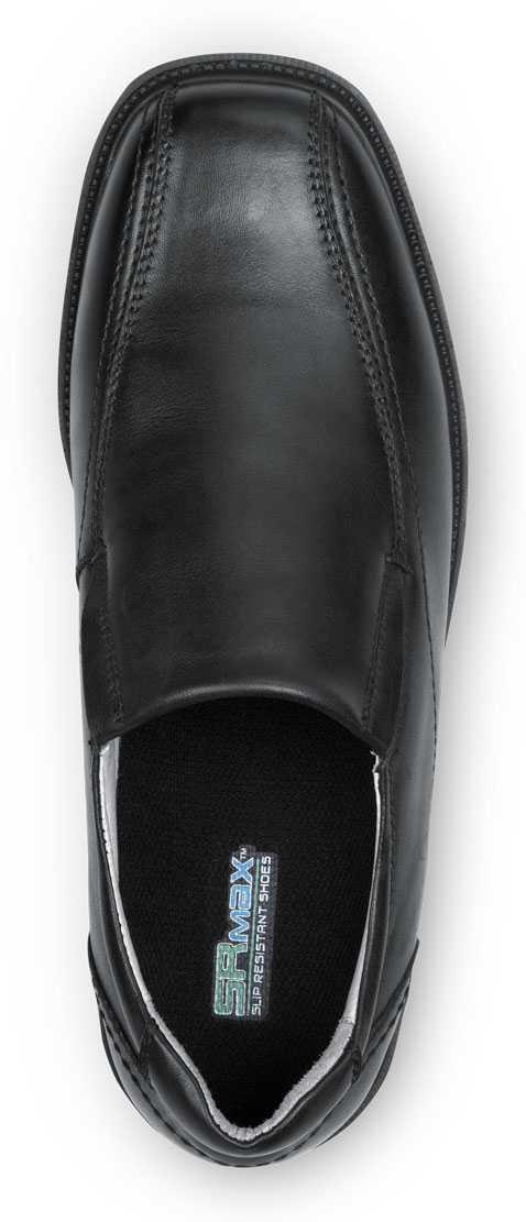 SR Max SRM3080 Brooklyn Men's Black, Twin Gore, Soft Toe, Slip Resistant Slip On