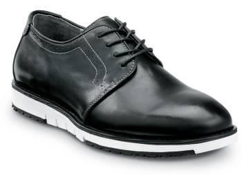 SR Max SRM3310 Beaufort, Men's, Black/White, Dress Style Soft Toe Slip Resistant Work Shoe