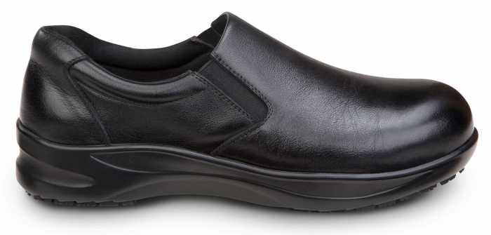 SR Max SRM415 Albany, Women's, Black, Slip On Casual Oxford Style Alloy Toe, EH, Slip Resistant Work Shoe