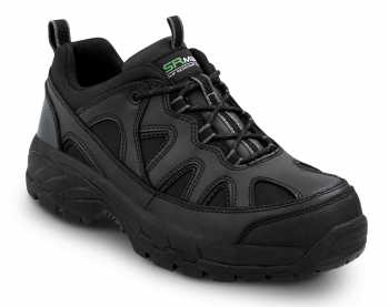 SR Max SRM4400 Walden, Unisex, Black, Athletic Style Steel Toe, EH, Slip Resistant Work Shoe
