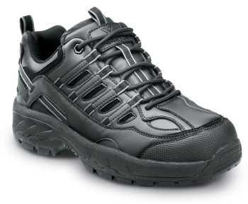 SR Max SRM4500 Carbondale, Men's, Black, Athletic Style Soft Toe Slip Resistant Work Shoe