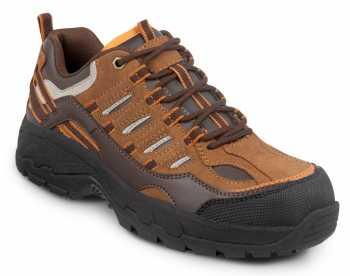 SR Max SRM4650 Boone, Men's, Brown, Low Hiker Style Comp Toe, EH, Slip Resistant Work Shoe