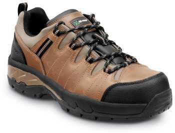 SR Max SRM4660 Winston, Men's, Brown, Low Hiker Style Comp Toe, EH, Slip Resistant Work Shoe