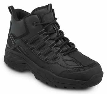 SR Max SRM4790 Boone, Men's, Black, Hiker Style Comp Toe, EH, Slip Resistant Work Shoe
