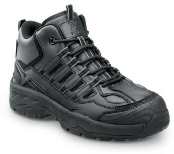 SR Max SRM4800 Carbondale, Men's, Black, Hi Top Athletic Style Soft Toe Slip Resistant Work Shoe