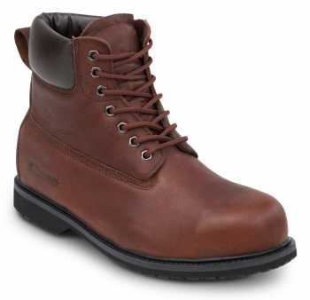 SR Max SRM5525 Boulder, Men's Brown, Steel Toe, EH, Waterproof, Slip Resistant 6 Inch Work Boot