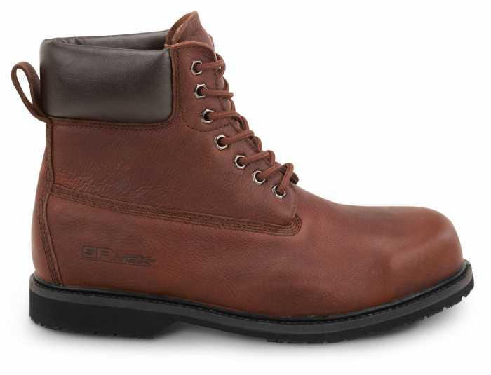SR Max SRM5525 Boulder, Men's Brown, Steel Toe, EH, Waterproof, Slip Resistant 6 Inch Work Boot