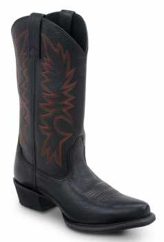 SR Max SRM590 Nashville Women's Black/Red Slip Resistant Cowboy Boot