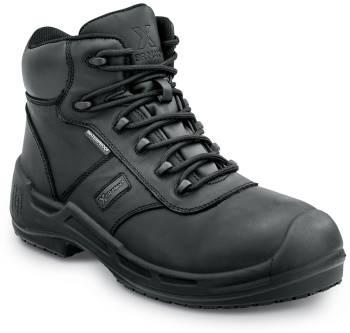 SR Max SRM9100 Cascade, Men's, Black, Soft Toe, Waterproof, Slip Resistant 6 Inch Work Boot