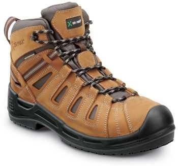 SR Max SRM9170 Concord, Men's, Brown, Hiker Style, Comp Toe, EH, Waterproof, Slip Resistant Work Boot