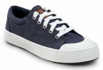 SKECHERS Work SSK8041NVW Kendall Navy/White, Women's, Soft Toe, Slip Resistant Skate Shoe