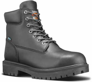 Timberland PRO STMA1W52 6IN Direct Attach Men's, Black, Steel Toe, EH, MaxTRAX Slip Resistant, WP Boot