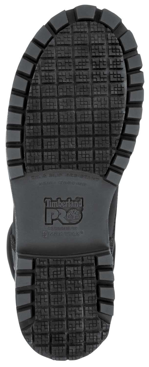 Timberland PRO STMA1X83 6IN Direct Attach Women's, Black, Steel Toe, EH, MaxTRAX Slip Resistant, WP/Insulated Boot
