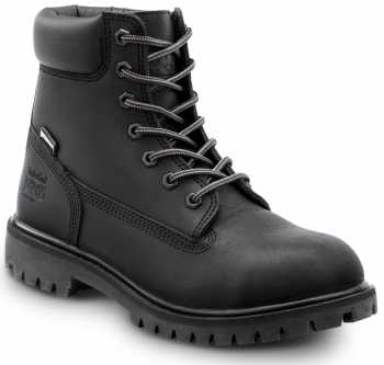 Timberland PRO STMA1X83 6IN Direct Attach Women's, Black, Steel Toe, EH, WP/Insulated