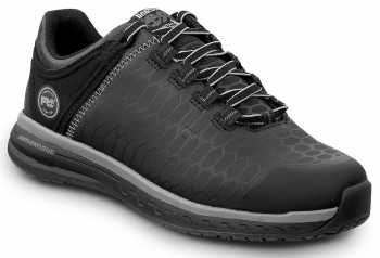 Timberland PRO STMA1XTG Powerdrive, Women's, Black, Soft Toe, EH, MaxTRAX Slip Resistant Low Athletic