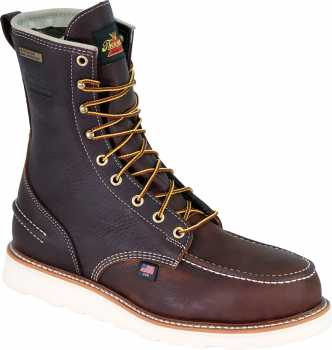Thorogood TG804-3800 Men's, Briar, Steel Toe, EH, Wedge, 8 Inch Boot
