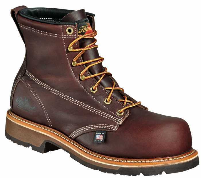 Thorogood TG804-4367 Men's, Black Walnut, Comp Toe, EH, 6 Inch Boot