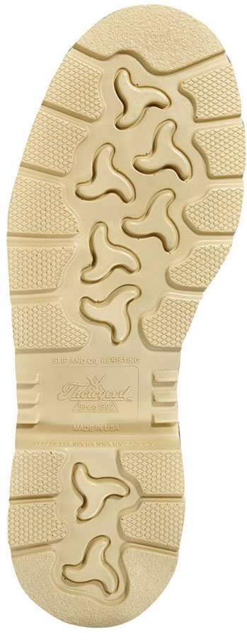 Thorogood TG804-4375 Men's, Brown, Steel Toe, EH, 6 Inch, Moc Toe Boot