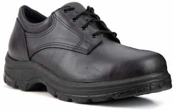 Thorogood TG804-6905 Soft Streets, Men's, Black, Steel Toe, EH, Slip Resistant Oxford