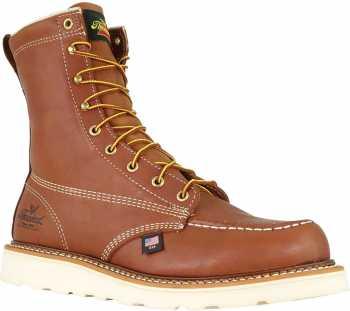 Thorogood TG814-4201 American Heritage, Men's, Tobacco, 8 Inch, Soft Toe Boot