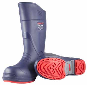 Tingley TI26256 Flite, Unisex, Blue, 15 Inch, Comp Toe, EH, Polymer, Pull On Boot