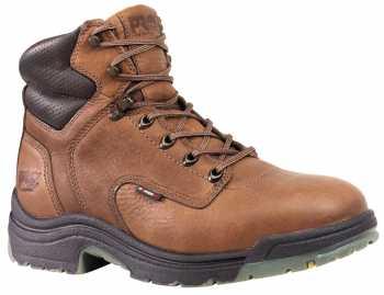 Timberland PRO TM26063 Coffee, Men's TiTAN Alloy Toe, EH, 6 Inch Work Boot