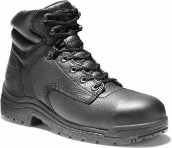 Timberland PRO TM26064 Black, Men's TiTAN Alloy Toe, EH, 6 Inch Work Boot