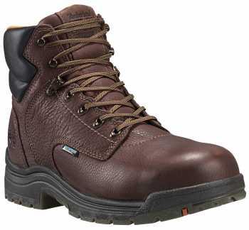 Timberland PRO TM26078 Dark Mocha, Men's, TiTAN Alloy Toe, EH, 6 Inch Work Boot