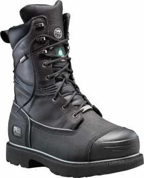 Timberland PRO TM53531 Gravel Pit, Men's, Black, Steel Toe, EH, Mt, PR, WP/Insulated Boot