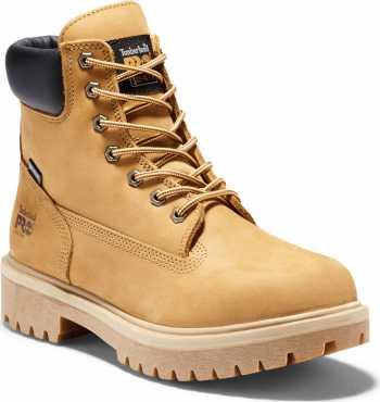 Timberland PRO TM65016 Waterbuck Wheat, Men's, Steel Toe, EH, Insulated, Waterproof, 6 Inch Work Boot