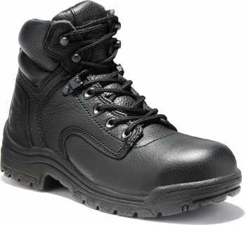 Timberland PRO TM72399 TiTAN Women's Black, 6 Inch, Alloy Toe, EH Boot