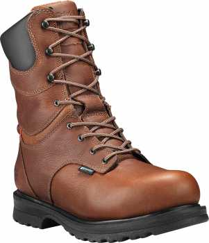 Timberland PRO TM88116 Rigmaster, Women's, Red Brown, Alloy Toe, EH, WP, 8 Inch Boot