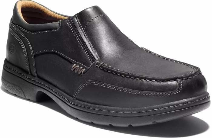 Timberland PRO TM92647 Branston Men's, Black, Alloy Toe, SD, Twin Gore, Casual Slip On