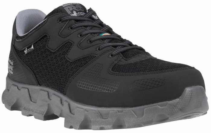 Timberland PRO TM92649 Powertrain SD, Black, Men's, Alloy Toe, Low Casual