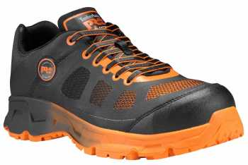 Timberland PRO TMA13C2 Velocity Men's, Black/Orange, Alloy Toe, EH, Sport Oxford