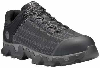 Timberland PRO TMA176A Powertrain, Men's, Black/Grey, Alloy Toe, EH Oxford