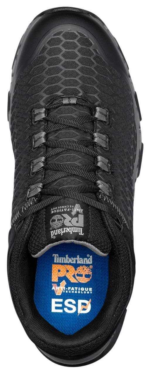 Timberland PRO TMA1B6U Powertrain, Men's, Black, Alloy Toe, SD, Sport Casual
