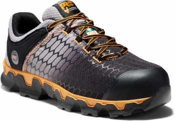 Timberland PRO TMA1G7X Powertrain, Men's, Grey/Orange, Alloy Toe, EH, PR Casual