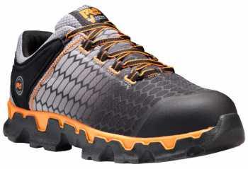 Timberland PRO TMA1GT9 Powertrain Sport Men's,Grey/Orange, Alloy Toe, SD, Sport Shoe