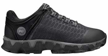 Timberland PRO TMA1JY4 Powertrain Sport Women's, Black, Alloy Toe, EH, Athletic