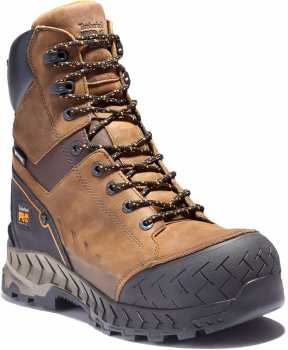 Timberland PRO TMA24FK Summit, Men's, Brown, Comp Toe, EH, 8 Inch Boot