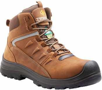 Terra TR305204 Findlay, Brown, Men's, Comp Toe, SD, PR, WP Hiker