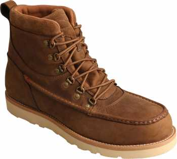 Twisted X TWMCAAW01 Men's, Brown, Alloy Toe, EH, WP, 6 Inch Boot
