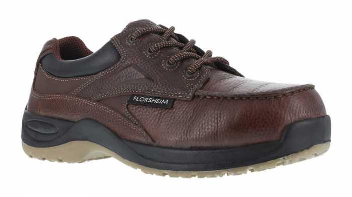 Florsheim WGFS2700 Brown, Men's, Comp Toe, SD, Casual Moc Toe Oxford