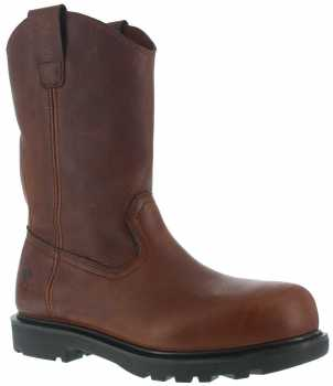 Iron Age WGIA0194 Hauler, Men's, Brown, Comp Toe, EH, 11 Inch Wellington