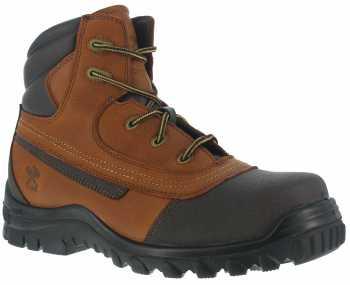 Iron Age WGIA5501 Backstop, Men's, Brown, Steel Toe, SD, 6 Inch Boot
